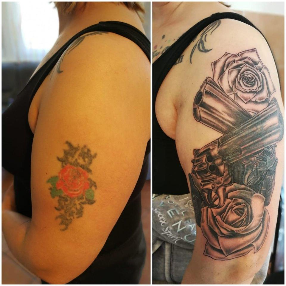 Unterarm kosten tattoo mann Tattoo Schrift