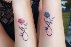 freundschafts-tattoo-arm
