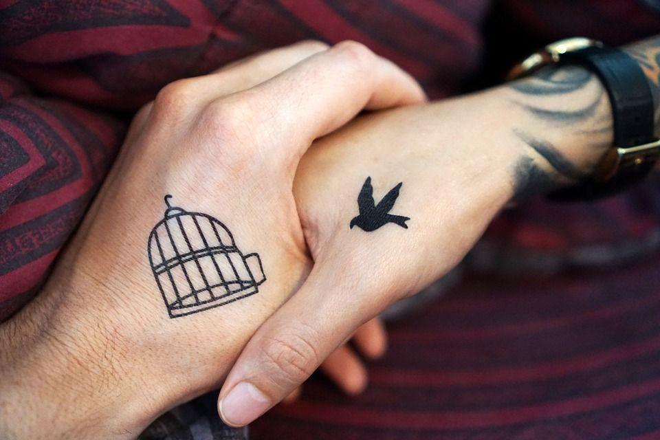 Handgelenk partner tattoo Tattoo am