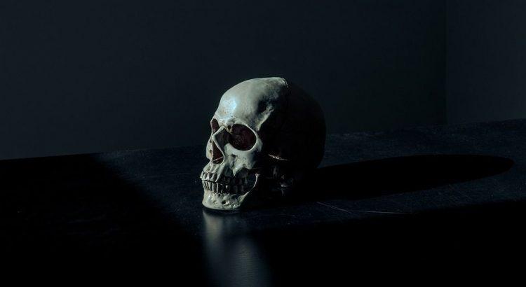 Skull Tattoo, auch Totenkopf-Tattoo genannt.
