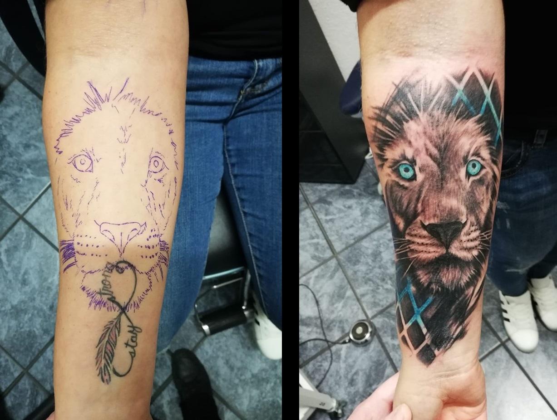 Tattoo mann kosten unterarm Unterarm