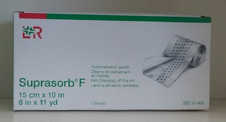 Suprasorb-F - Tattoofolie - Verpackung